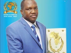 Directeur Fondateur IGEMA-Afrique – Burkina Faso Meilleur Promoteur du secteur de la formation professionnelle des cadres en Afrique PRIX INTERNATIONAL PADEL 2015